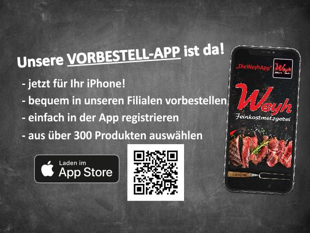 Vorbestellapp für Apple iOS